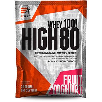 Extrifit High Whey 80 - 30 g - 30 g - jablečný štrúdl