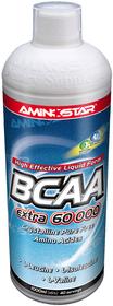 Aminostar BCAA Extra 60000 Liquid 1000 ml - višeň