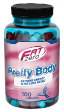 FatZero Pretty Body 100 kapslí