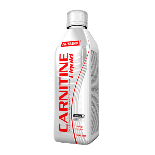 Nutrend Carnitine Liquid 500ml - pomeranč