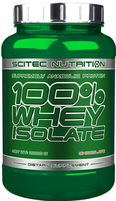 Scitec Nutrition Scitec 100% Whey Isolate - 700 g - jahoda
