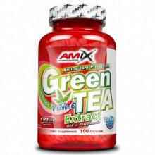 Amix Green Tea + vitamin C 100 kapslí