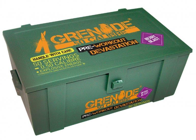 Grenade .50 Calibre 580 g - berry blast