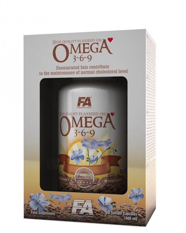 Fitness Authority Omega 3-6-9 120 kapslí