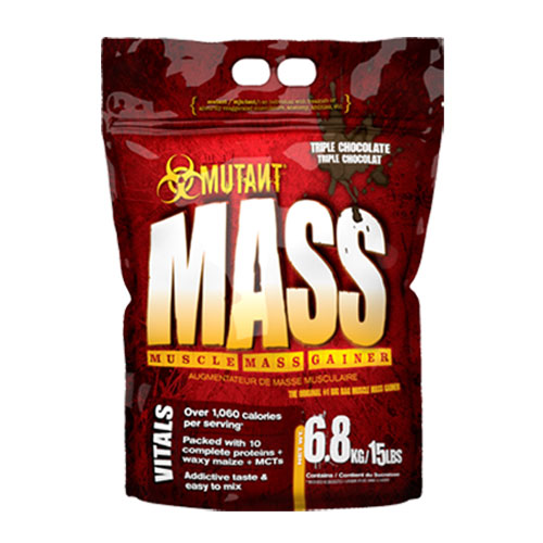 PVL Nutrients Mutant Mass Gainer 6800 g - čokoláda