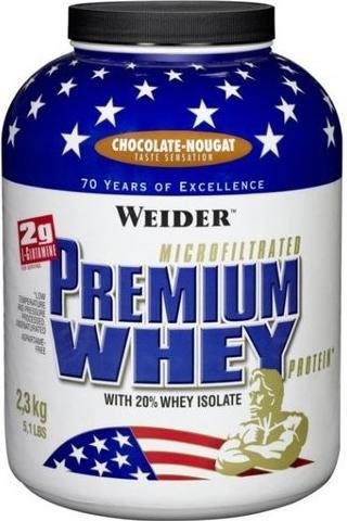 Weider Premium Whey Protein 2300 g - skořice