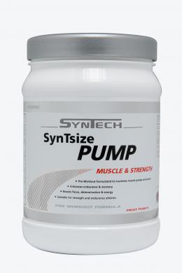SynTech SynTsize Pump 600 g - ovocný punč