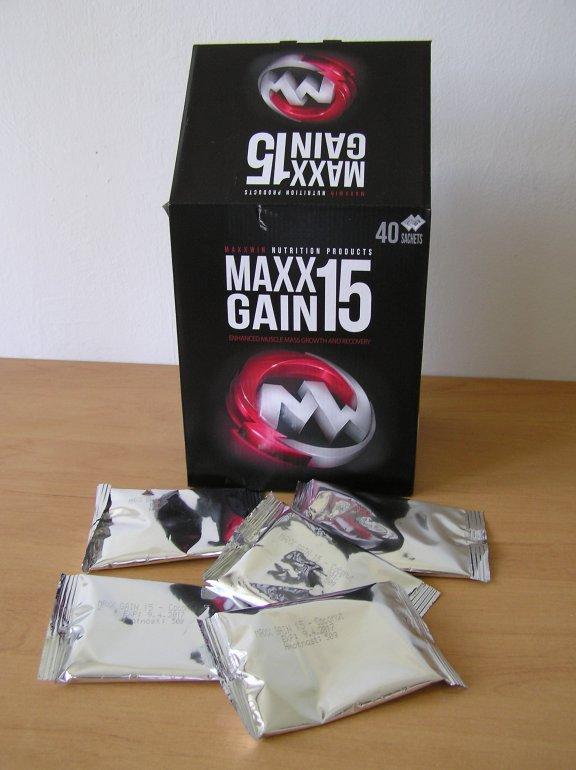 MAXXWIN Maxx Gain 15 50 g - vanilka