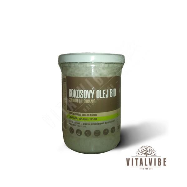 Vitalvibe kokosový olej BIO 400 ml