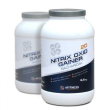 4FITNESS Gainer 20 nitrix oxid Sachariďák