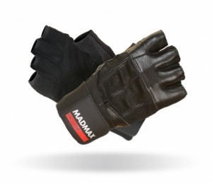 MadMax rukavice PROFESSIONAL EXCLUSIVE BLACK MFG269