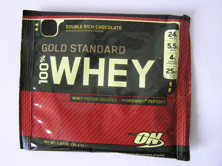 Optimum Nutrition 100% Whey gold standard 31 g - čokoláda