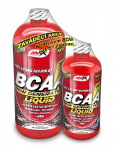 Amix BCAA New Generation liquid 1000+500ml ZDARMA