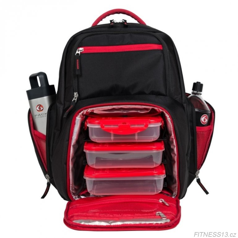 Six Pack Bags Expert Backpack 300 - Red/Gray
