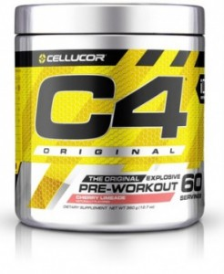 Cellucor C4 (G4) Pre-Workout 60 dávek 390 g
