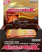 Allmax nutrition Allmax MuscleMaxx Tyčinky 12x57g - Burákové máslo s mléčnou čokoládou