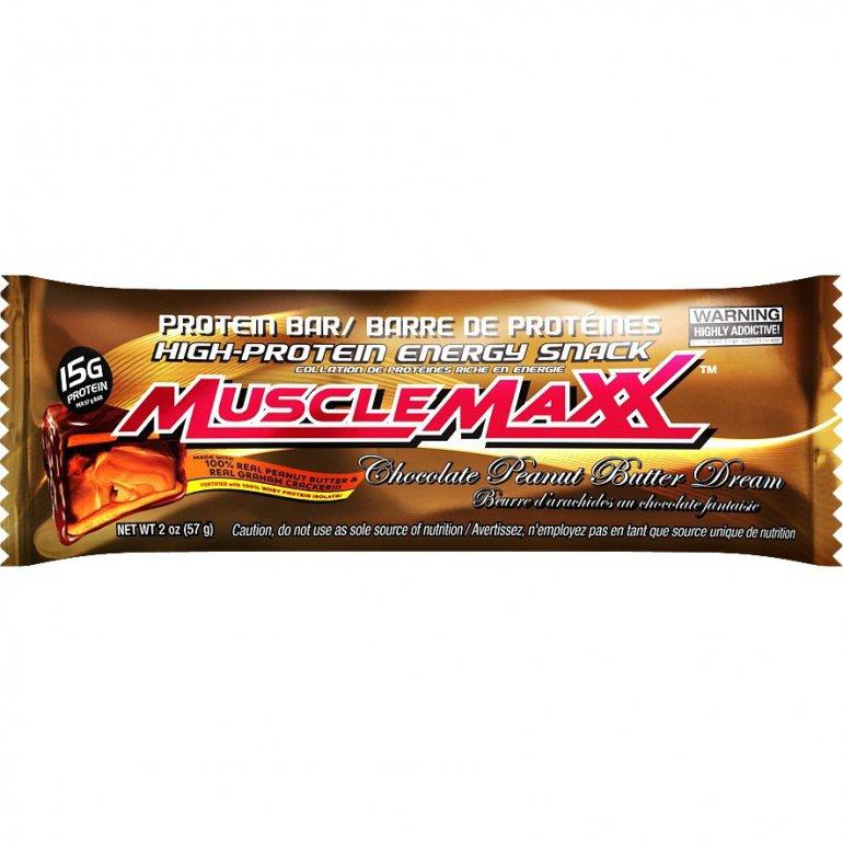 Allmax nutrition Allmax MuscleMaxx Tyčinka 57g - Burákové máslo s mléčnou čokoládou