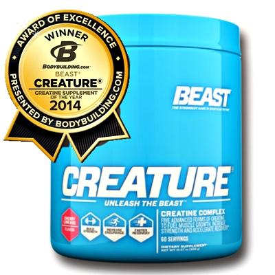 Beast Sports Creature Powder 300 g - Růžový grep