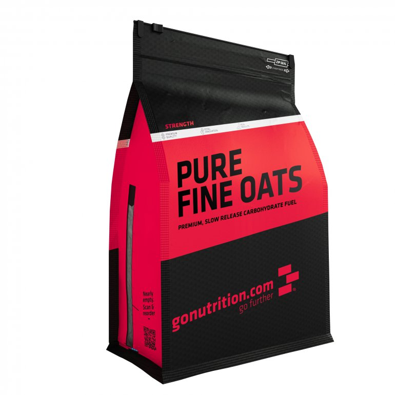 GoNutrition Pure Fine Instant Oats 2500g