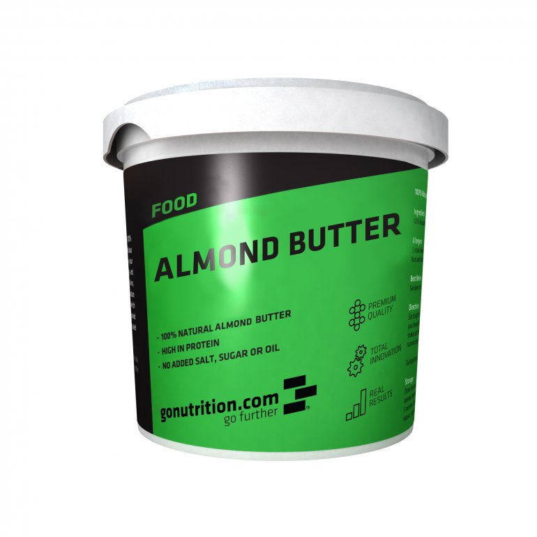 GoNutrition Mandlové máslo 1000g