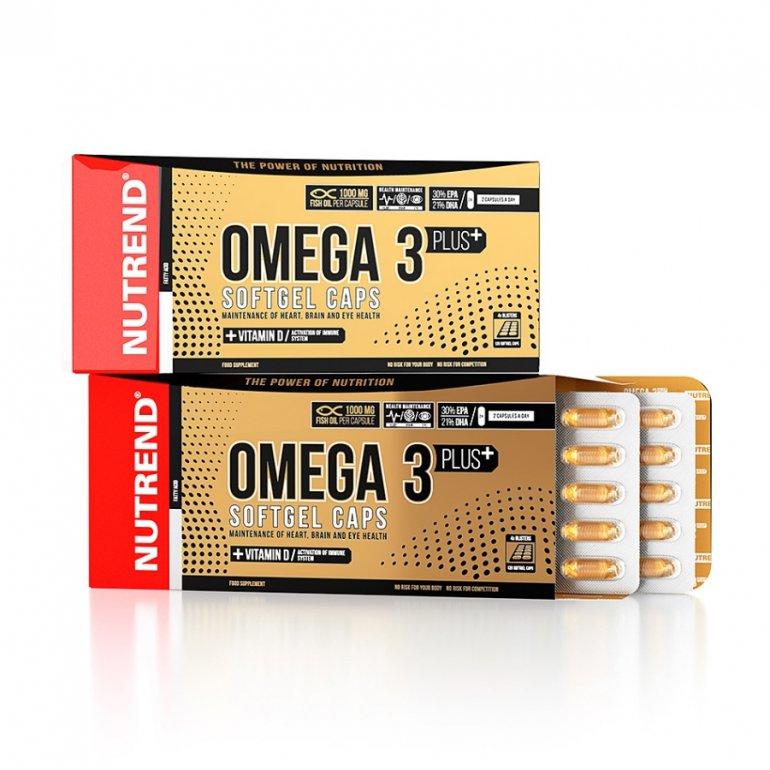 Nutrend Omega 3 Plus 120 tobolek