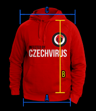 Czech Virus Mikina Czech Virus® Unisex