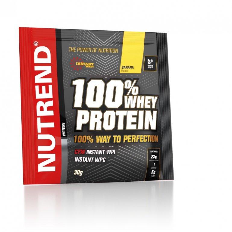 Nutrend 100 % Whey Protein 30 g - ledová káva