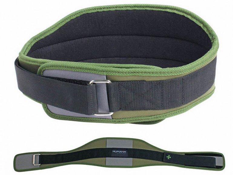 Harbinger vzpěračský opasek Coreflex6 zelený - vel. S