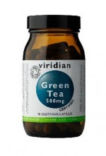 Viridian  Organic Green Tea 500 mg 90 kapslí