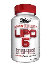 Nutrex Research Nutrex Lipo 6 STIM FREE 120 kapslí