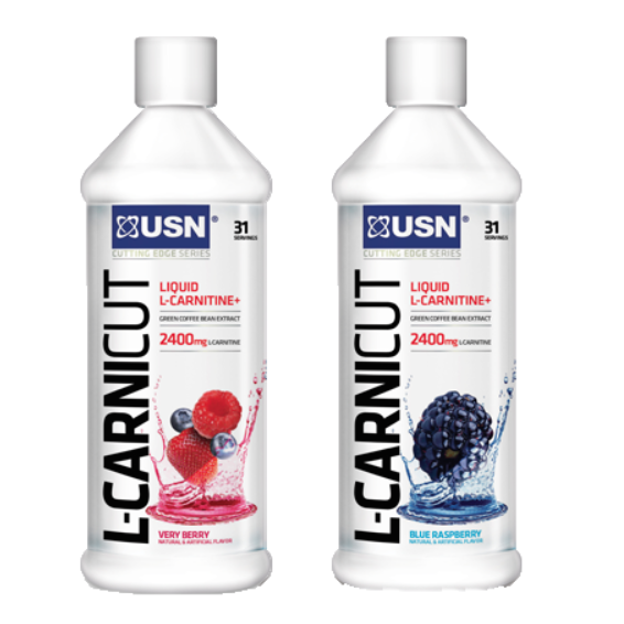 USN L-CARNICUT 465 ml - Blue Raspberry