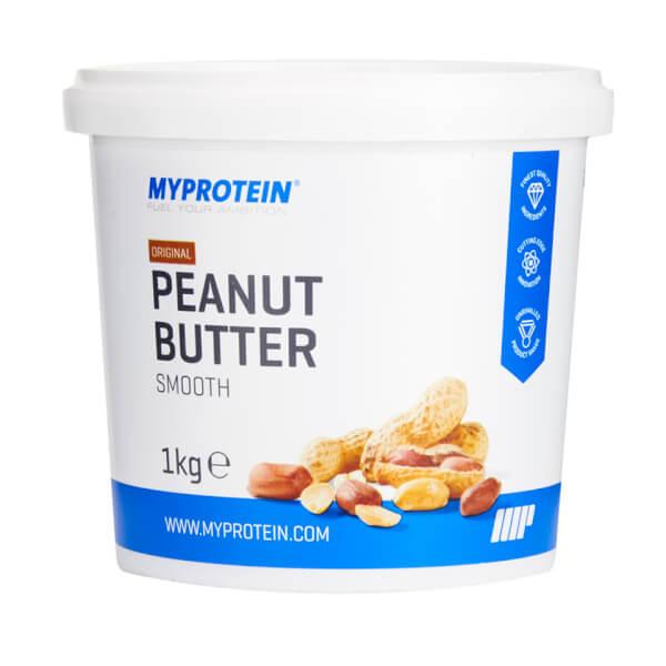 MyProtein Arašídové máslo 1000 g - Arašídy + kokos
