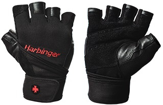 HARBINGER FITNESS RUKAVICE 1140 PRO WRIST WRAP NEW - vel. M