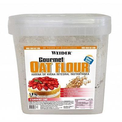 Weider Gourmet Oat Flour (celozrnná ovesná mouka) 1900 g - mléčná rýže