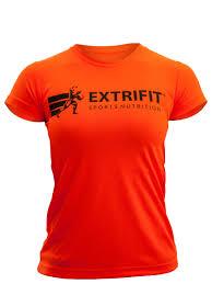 Extrifit Triko dámské 10 (krátký rukáv oranžové) - oranžová - vel. XS
