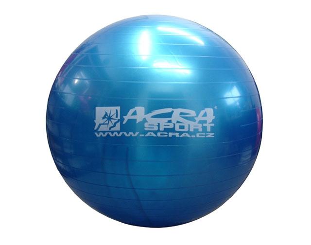 Acra Gymnastický míč OVERBALL - 75 cm - modrý