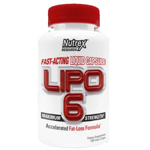Nutrex LIPO 6 120 tablet