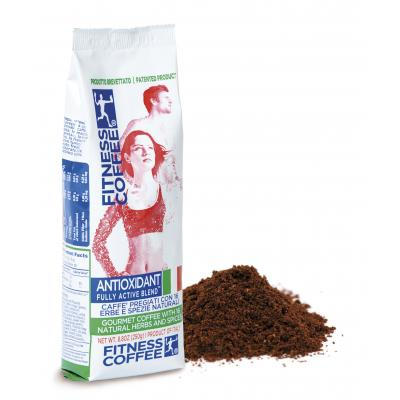 Monvitaly Káva Fitness Coffee Antioxidant Fully Active Blend mletá 250 g - mletá