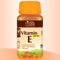 VitaHarmony My Country - Vitamin E 100 mg - 90 tobolek