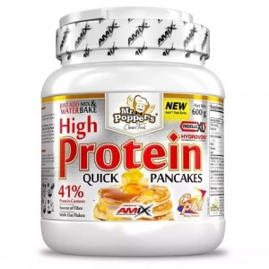 Amix Mr.Poppers High Protein Pancakes 600 g