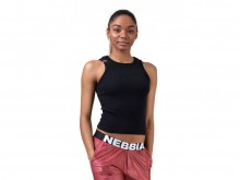 NEBBIA SPORTS NEBBIA LABELS CROP TOP 516